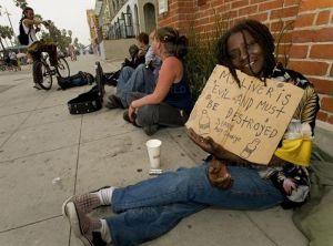 USA Panhandling Signs